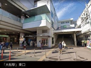 「大船駅」の東口